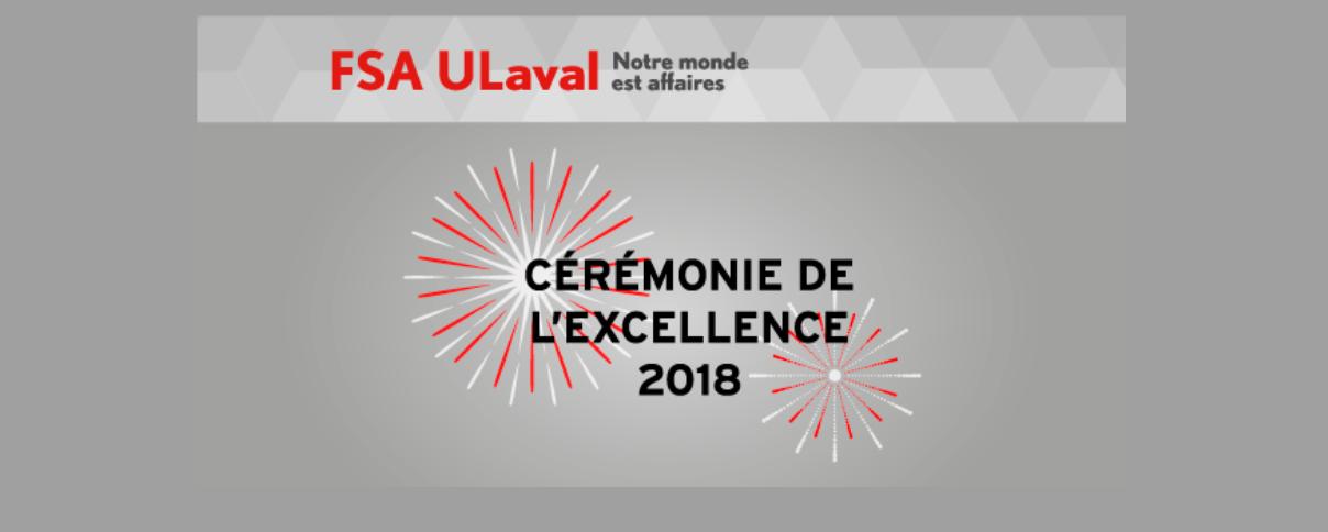 Cérémonie d'excellence FSA 2018