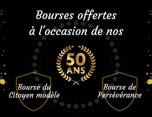Bourses des 50 ans de l'APMAL