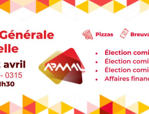 Avis de convocation – Assemblée générale annuelle du 2 Avril 2019
