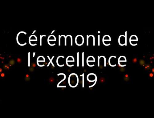 Retour sur la cérémonie d'excellence d'hiver 2019
