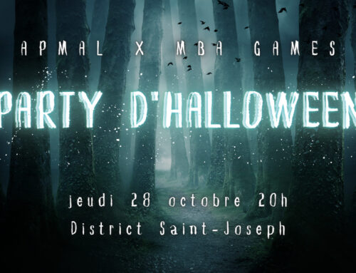 PARTY D'HALLOWEEN // APMAL x MBA Games